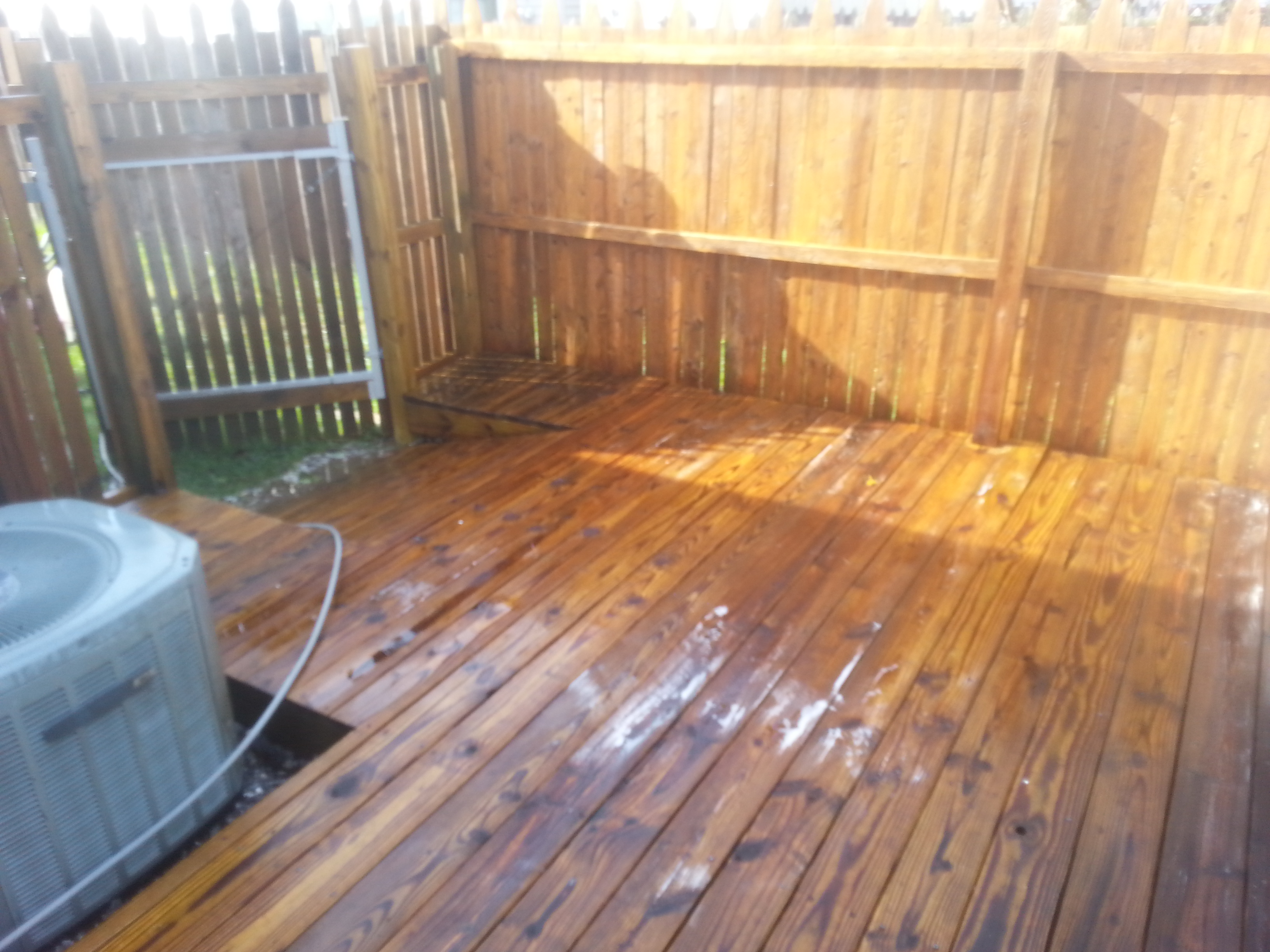 After Deck Cleaning In Newport News Va By Softwash Pros