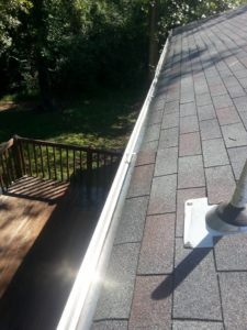 After Gutter Cleaning in Virginia Beach, VA by SoftWash Pros