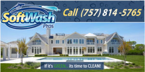 Pressure Washing, Roof Cleaning, House Washing and More in Newport News, Virginia by SoftWash Pros
