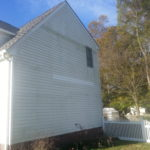 Before House Washing in Virginia Beach, VA by SoftWash Pros