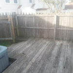 Before Deck Cleaning in Virginia Beach, VA by SoftWash Pros